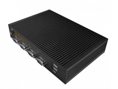 Системный блок - RightOne SuperCompact-PC Celeron 2807 Solid Fanless